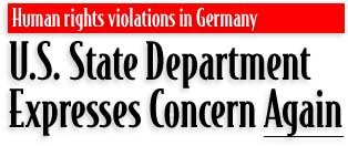 U.S. State Department Expresses Concern <U>Again</U>